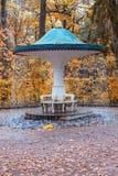 The Umbrella fountain cracker Royalty Free Stock Photography