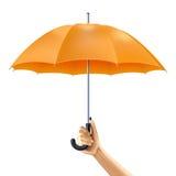 Umbrella In Hand Stock Photos