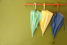 Umbrella Hang On Hanger Royalty Free Stock Images
