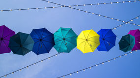 Umbrella Hanging Stock Images
