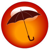 Umbrella icon Royalty Free Stock Photo