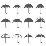 Umbrella icon Stock Photos