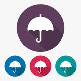 Umbrella icon Stock Photography
