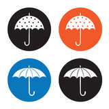 Umbrella icon Royalty Free Stock Photos