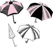 Umbrella Illustration Royalty Free Stock Photos
