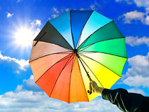 Free Umbrella In Hand Stock Image - 9960621