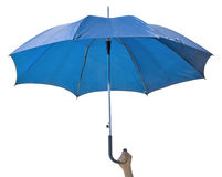 Umbrella isolated on white Royalty Free Stock Images