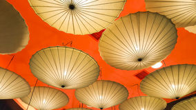 Umbrella Lamp Stock Images