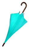 Umbrella - Light blue isolated Stock Photography