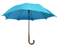 Umbrella - Light Blue isolated Stock Images