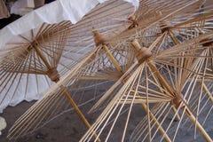 Umbrella made form paper Stock Photo