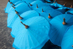 Umbrella made ​​of paper / fabric. Arts Royalty Free Stock Image