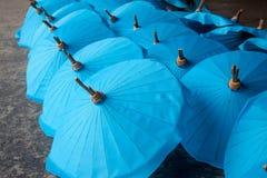 Umbrella made of paper / fabric. Arts Royalty Free Stock Image