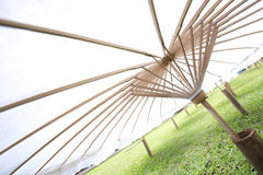 Umbrella made Stock Photos