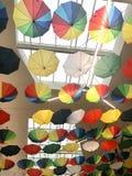 Umbrella at the Mall Stock Photo