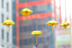 Umbrella Movement in Hong Kong Royalty Free Stock Photos