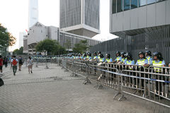 Umbrella Movement in Hong Kong Stock Image