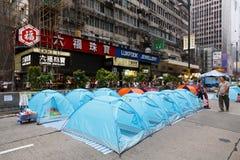 Umbrella Movement in Hong Kong Royalty Free Stock Images