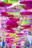 Umbrella Party Royalty Free Stock Photography