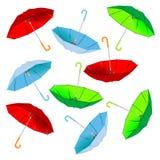 Umbrella pattern Stock Photo