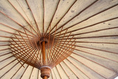 Umbrella pattern. Traditional umbrella pattern - umrella making factory Stock Photography