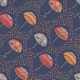 Umbrella Pattern Stock Images