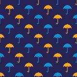 Umbrella pattern Stock Photography