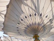 Umbrella Pillar of Masjid Nabawi Royalty Free Stock Photos