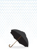 Umbrella In Rain Royalty Free Stock Images