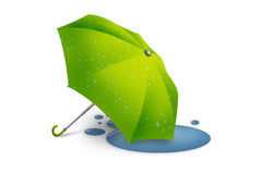 Umbrella after rain Royalty Free Stock Photo