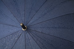 Umbrella with rain drops Stock Photos