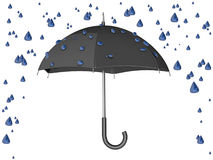 Umbrella Rain Storm Stock Photo