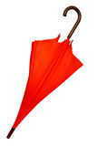 Umbrella - Red isolated Stock Images
