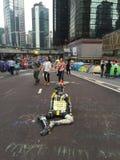 Umbrella Revolution - Admiralty Stock Photos