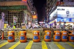 Umbrella Revolution in Hong Kong 2014 Royalty Free Stock Images