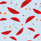 Umbrella seamless Royalty Free Stock Photos