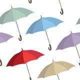 Umbrella seamless pattern. Fashion accessories sale concept Royalty Free Stock Photos