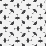 Umbrella seamless pattern Stock Images