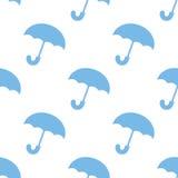Umbrella seamless pattern Royalty Free Stock Photos