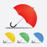 Umbrella Set 1 Royalty Free Stock Image