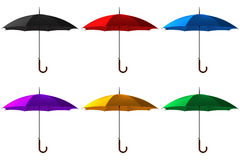 Umbrella set Royalty Free Stock Photography