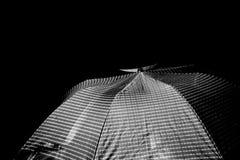 Umbrella shot Stock Photography