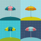 Umbrella sign. Stock Photo