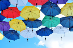 Umbrella sky Royalty Free Stock Photo