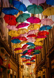 Umbrella Sky Royalty Free Stock Images