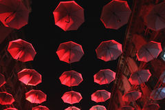 Umbrella sky Royalty Free Stock Photography