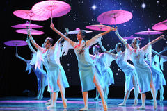 The umbrella song-National Dance Stock Photo