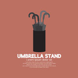 Umbrella Stand Royalty Free Stock Image