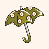Umbrella theme elements vector,eps Royalty Free Stock Images