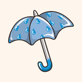 Umbrella theme elements vector,eps Stock Photo